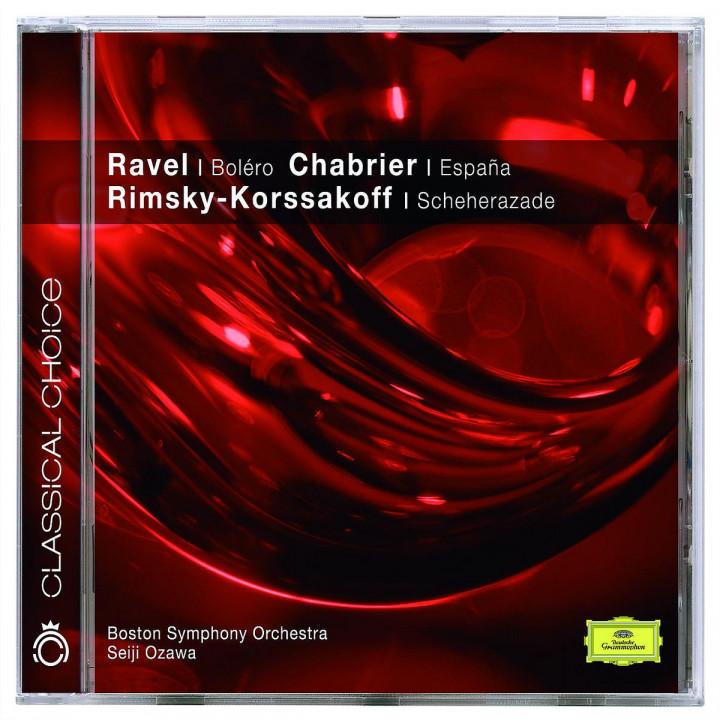 Ravel: Boléro; Alborada / Chabrier: España / Rimsky-Korsakov: Scheherazade Op.35