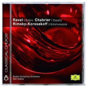Seiji Ozawa, Ravel: Boléro; Alborada / Chabrier: España / Rimsky-Korsakov: Scheherazade Op.35, 00028947774921