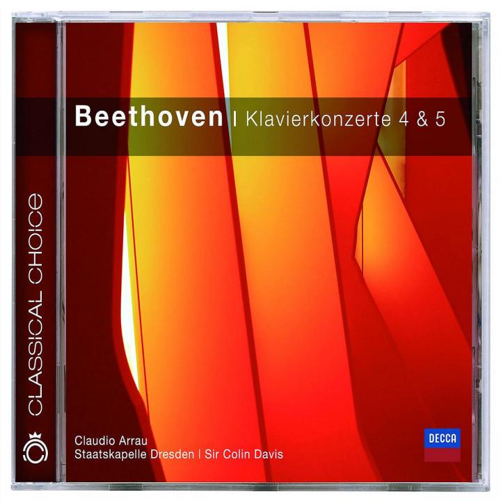 Beethoven: Piano Concertos Nos.4 & 5 0028947802442