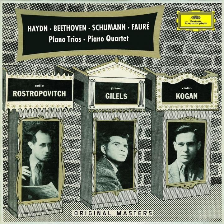 Haydn: Piano Trios H.XV Nos.16 & 19 / Beethoven: Piano Trios WoO38 & Op.97 / Schumann: Piano Trio O 0028947774765