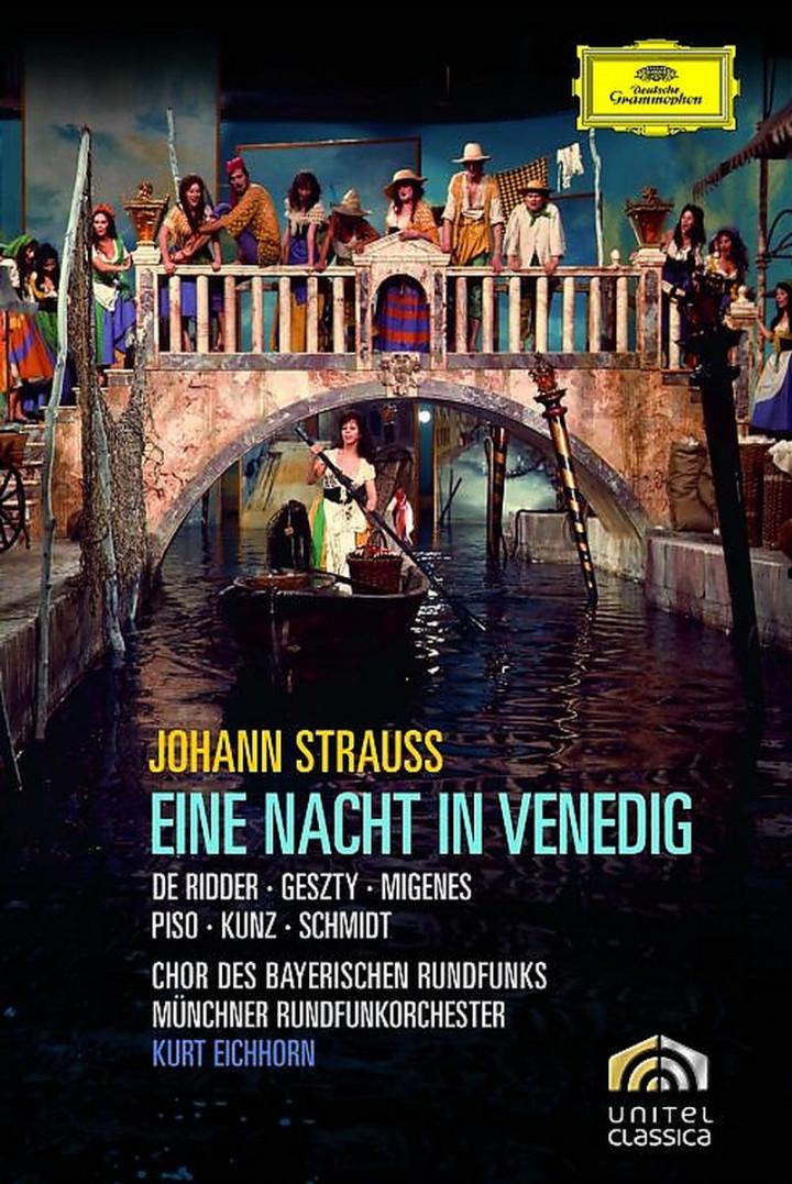 Strauss, J.: Eine Nacht in Venedig 0044007344350
