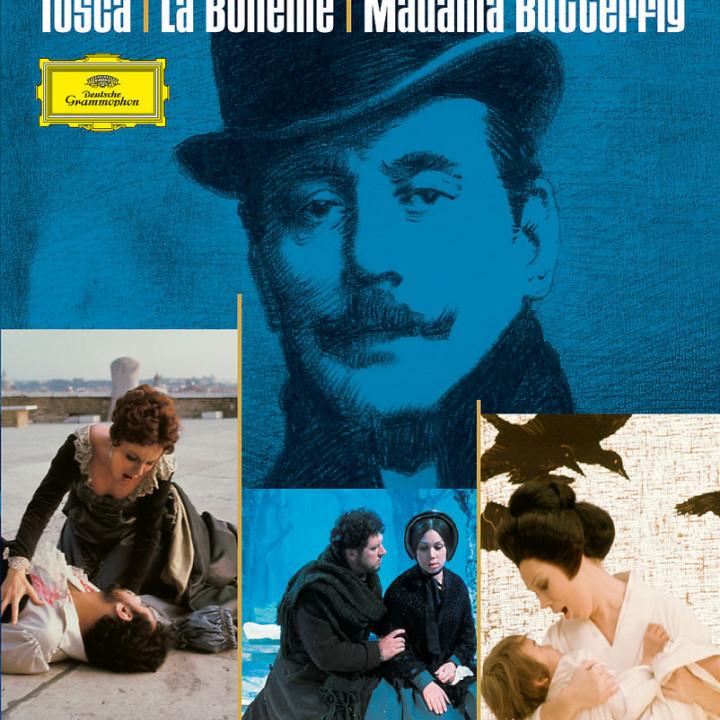 Puccini: La Bohème / Madama Butterfly / Tosca 0044007344176