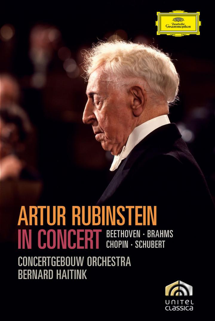 Rubinstein in Concert - Beethoven, Brahms, Schubert 0044007344453