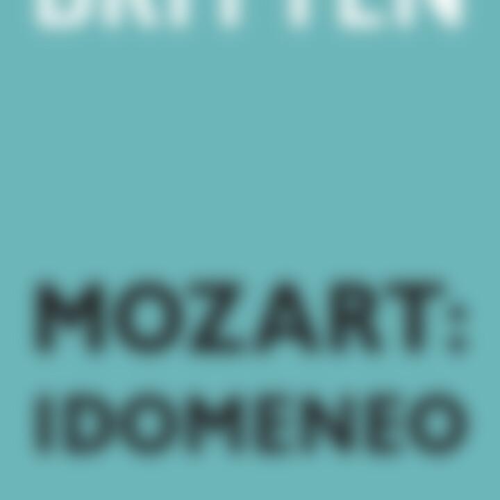 Mozart: Idomeneo 0044007432585