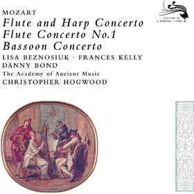 Christopher Hogwood, Mozart: Concerto for Flute&Harp; Concerto for Bassoon, 00028947800217