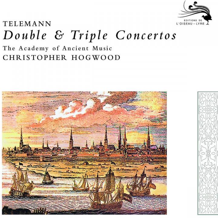 Telemann: Double & Triple Concertos 0028947800222