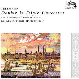 Christopher Hogwood, Telemann: Double&Triple Concertos, 00028947800224
