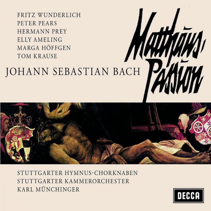 Matthäus-Passion BWV 244 0028948001561