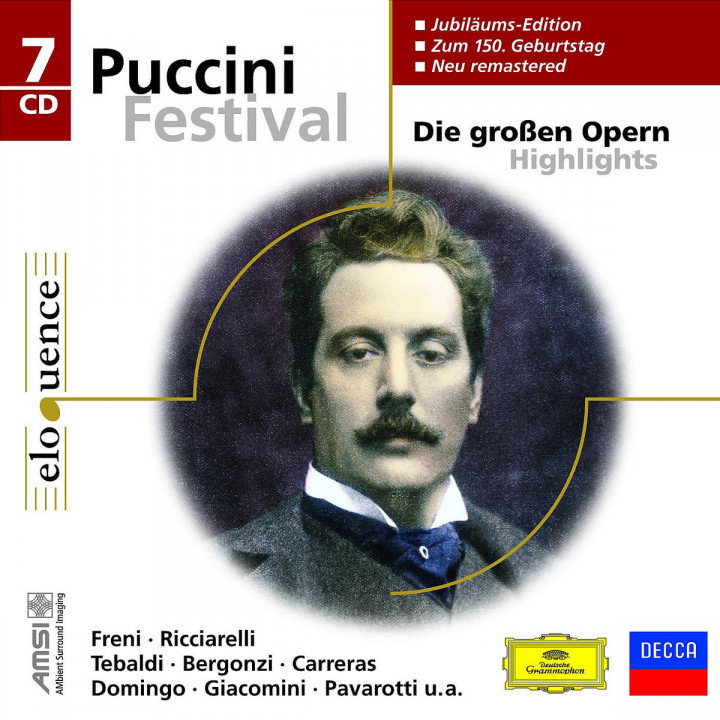 Puccini Festival - Die großen Opern Highlights 0028948009134