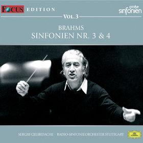 Sergiu Celibidache, Brahms: Sinfonie Nr.3, Op.90, Sinfonie Nr.4, Op.98, 00028948006953