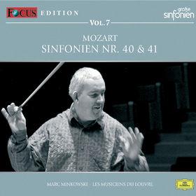 Marc Minkowski, Focus Edition - Vol.7: Sinfonien 40 & 41, 00028948007516