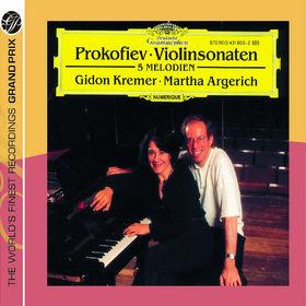 Martha Argerich, Prokofiev: Violin Sonatas, 00028947774341