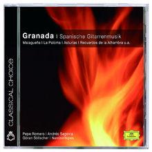 Narciso Yepes, Granada - Spanische Gitarrenmusik, 00028947775072