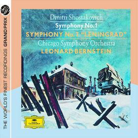 Leonard Bernstein, Shostakovich: Symphonies Nos.1&7 Leningrad, 00028947775874