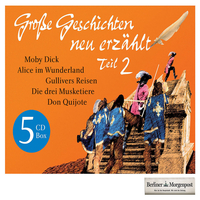 Herman Melville, Große Geschichten - Neu erzählt 2 (5CD-Box)