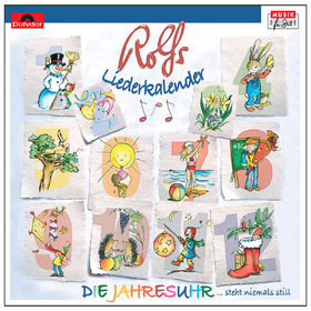 Rolf Zuckowski, Die Jahresuhr / Rolfs klingender Liederkalender, 00602517717206