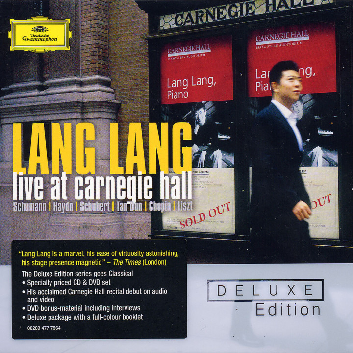 Deluxe Edition: Lang Lang - Live at Carnegie Hall 0028947775641