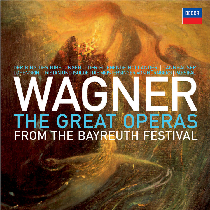 Wagner: The Great Operas from the Bayreuth Festival 0028947802796
