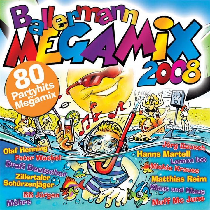 Ballermann Megamix 2008 4032989105377