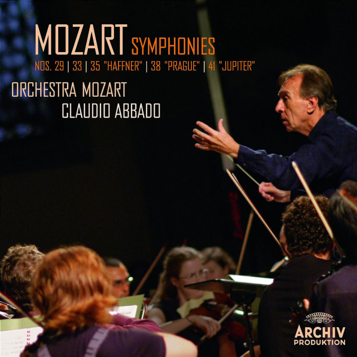 "Mozart: Symphonies Nos. 29, 33, 35 ""Haffner"", 38 ""Prague"", 41 ""Jupiter"" 0028947775984"