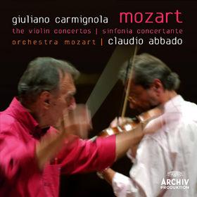 Giuliano Carmignola, Mozart: The Violin Concertos; Sinfonia Concertante, 00028947773719