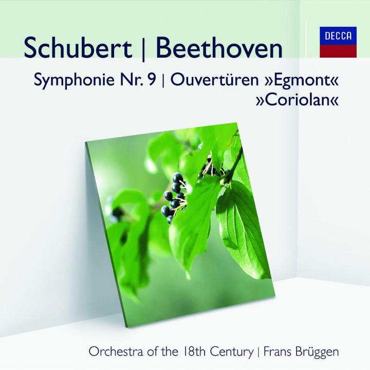 Schubert, Beethoven: Symphonie Nr.9, Ouvertüren 0028948000629