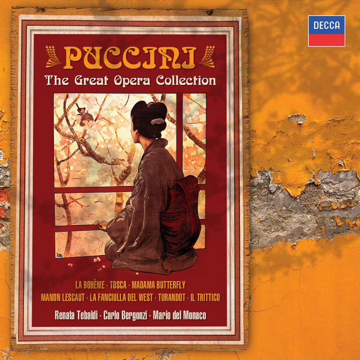 Puccini: The Great Operas 0028947593850
