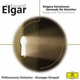 Giuseppe Sinopoli, Enigma Variationen, Serenade für Streicher, Pomp and Circumstance, 00028948012619