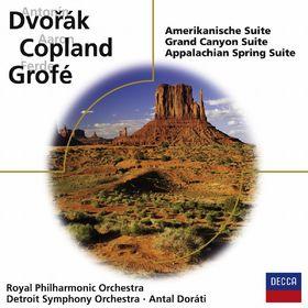 Dvorák, Grofé, Copland: Amerikanische Suiten, 00028948013975