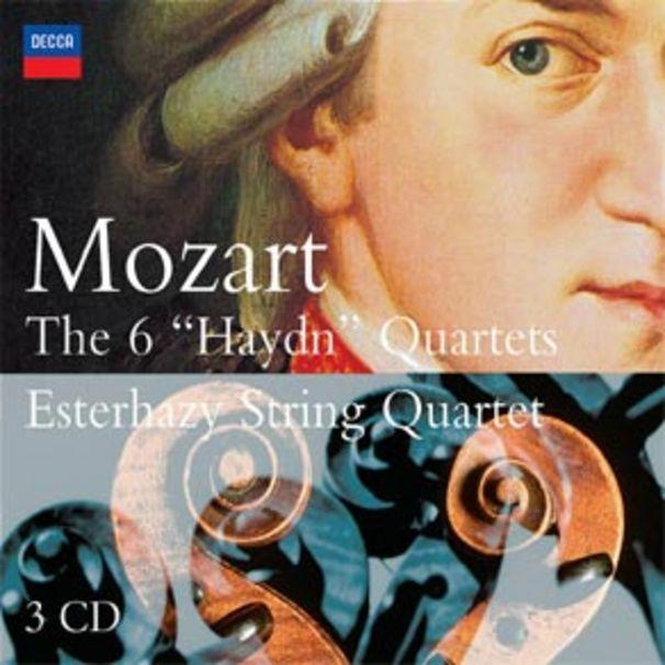 Wolfgang Amadeus Mozart, Esterhazy String Quartett - Mozart´s Haydnquartette: An den Freund