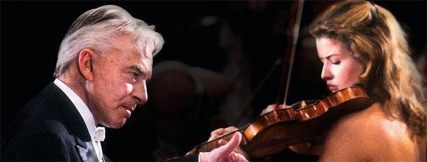 Karajan und Anne-Sophie