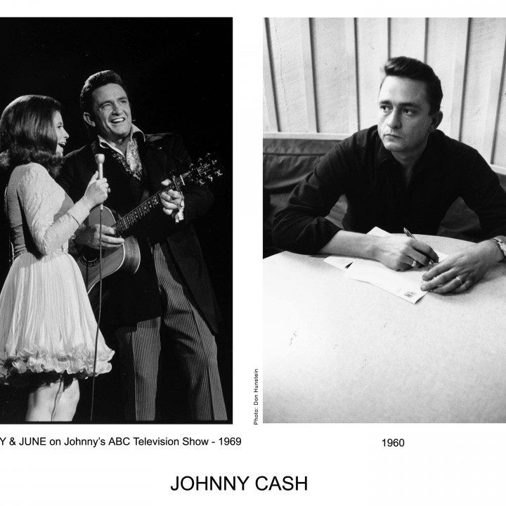 Johnny Cash-Pressefotos 2005