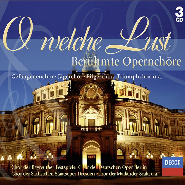 O welche Lust: Opernchöre 0028948012398