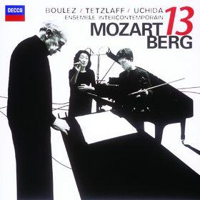 Mitsuko Uchida, Mozart: Gran Partita / Berg: Kammerkonzert, 00028947803164