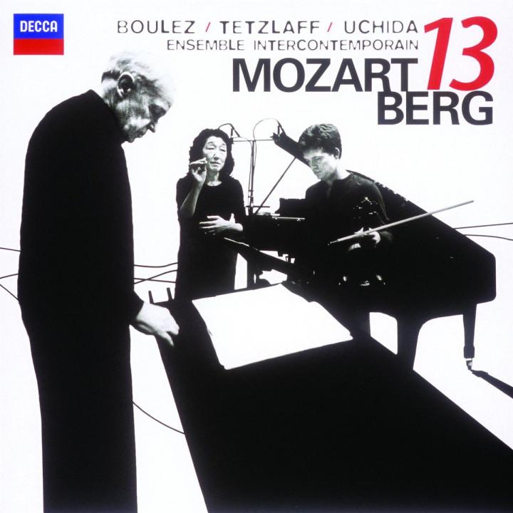 Mozart: Gran Partita / Berg: Kammerkonzert 0028947803164