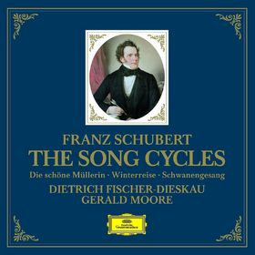 Dietrich Fischer-Dieskau, Schubert: The Song Cycles - Die schöne Müllerin, Winterreise & Schwanengesang, 00028947779568