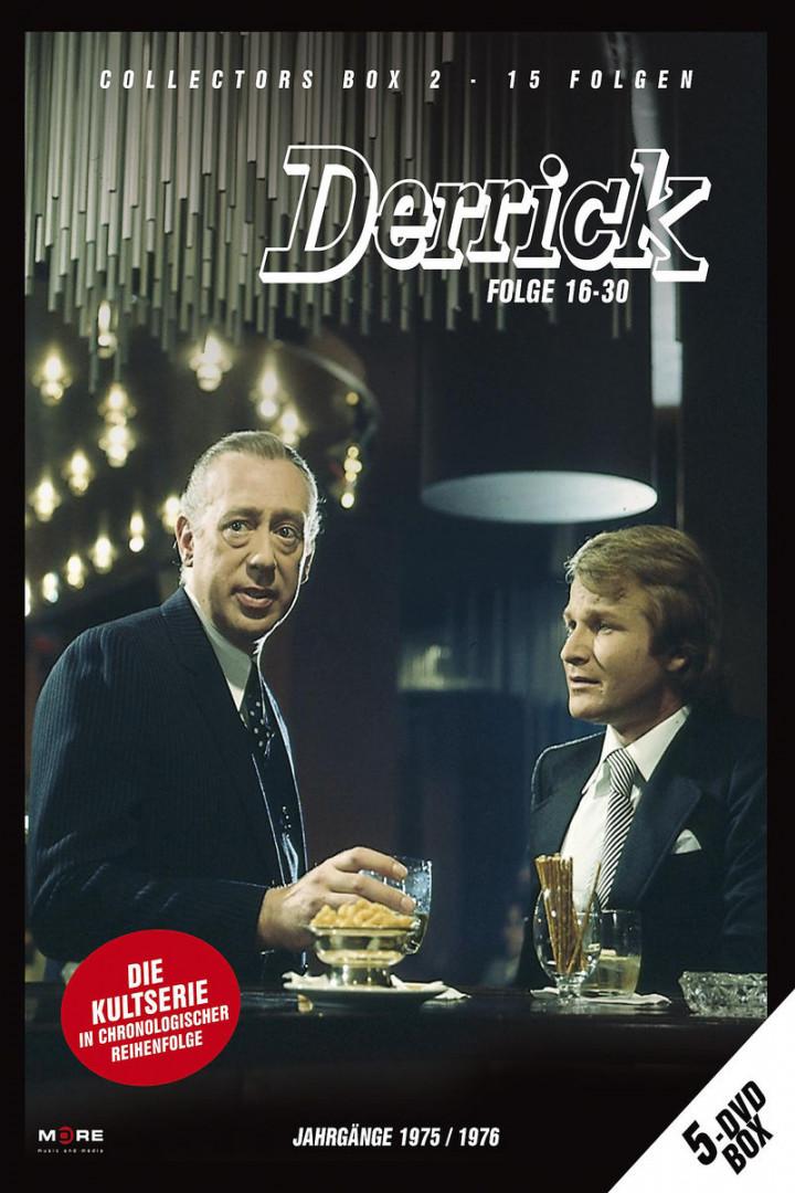 Derrick Collector's Box Vol. 2 (5 DVD/ Ep. 16-30) 4032989601691
