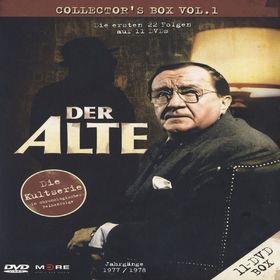 Der Alte, Der Alte Collector's Box Vol. 1 (22 Folgen/11 DVD), 04032989601714