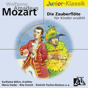 Karlheinz Böhm, Die Zauberflöte - Für Kinder erzählt von Karlheinz Böhm, 00028948008995