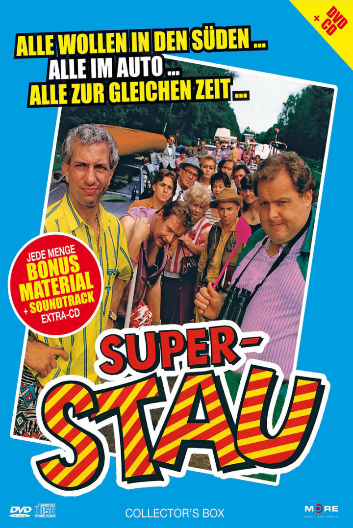 Superstau (Der Kultfilm + Soundtrack-CD) 4032989601721