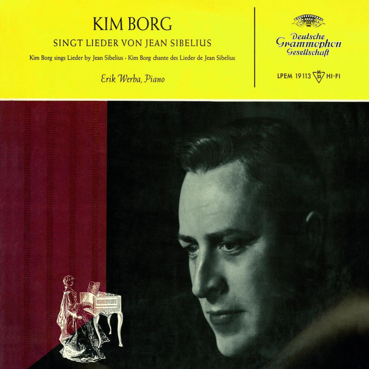 Kim Borg sings Sibelius Songs 0028947766124