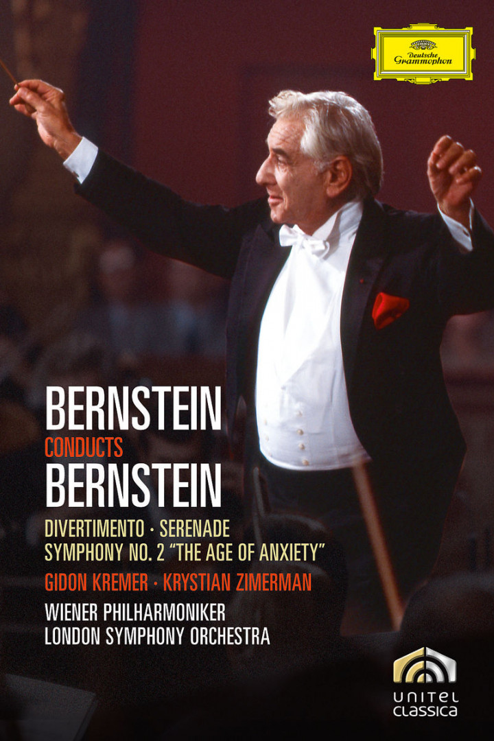 Bernstein: Divertimento; Serenade For Solo Violin, String Orchestra, Harp And Percussion; Symphony 0044007345146