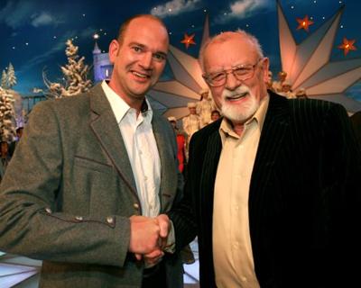 Udo Wenders, Udo Wenders mit Weihnachtslied beim Adventsfest der Volksmusik