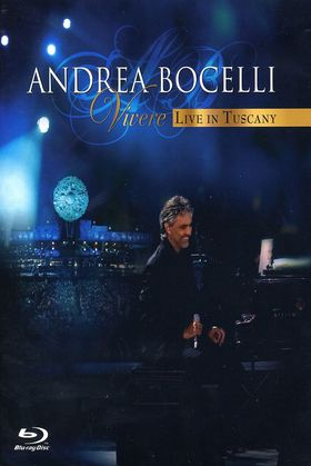 Andrea Bocelli, Vivere - Live In Tuscany, 00602517772731