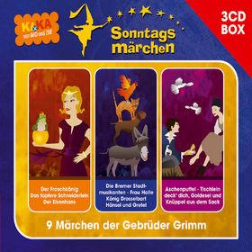 Hans Paetsch, KI.KA Sonntagsmärchen - Hörspielbox Vol. I, 00602517931923