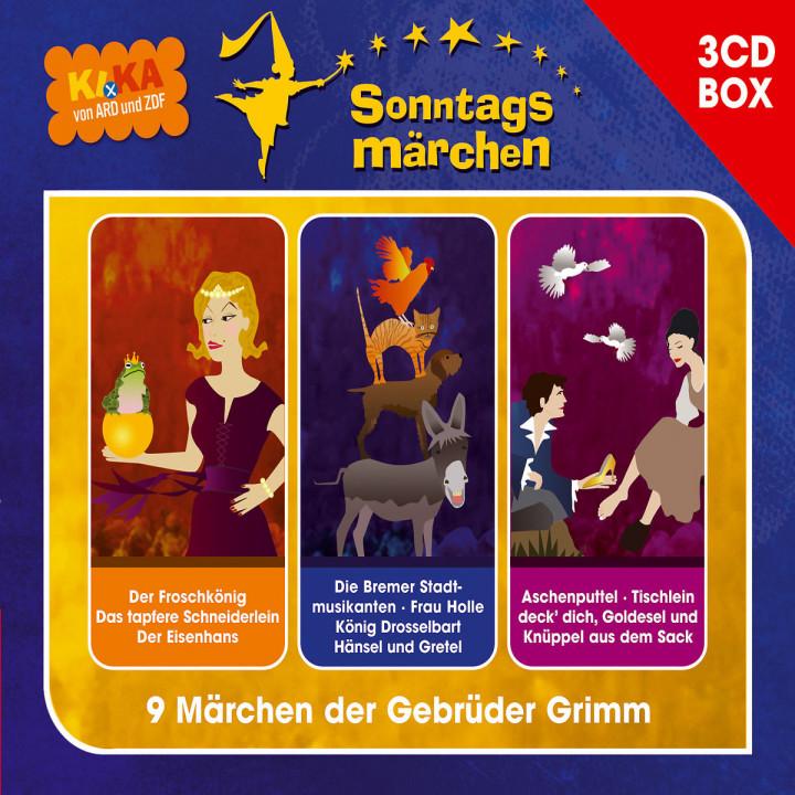KI.KA Sonntagsmärchen - Hörspielbox Vol. I 0602517931923
