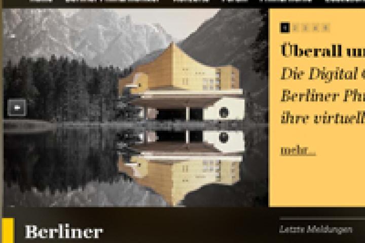 berliner philharmoinie web