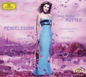 Anne-Sophie Mutter, Mendelssohn: Violin Concerto Op.64; Piano Trio Op.49; Violin Sonata in F major (1838), 00028947781486