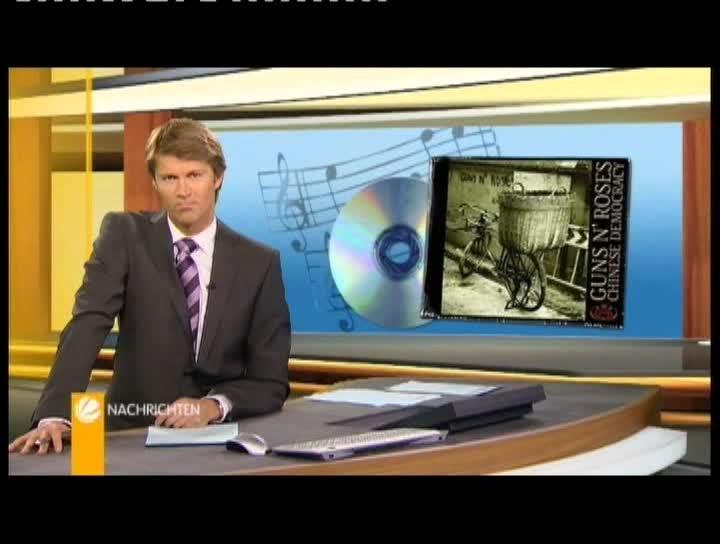 Sat 1 Nachrichten zur Guns N' Roses Record Release Party