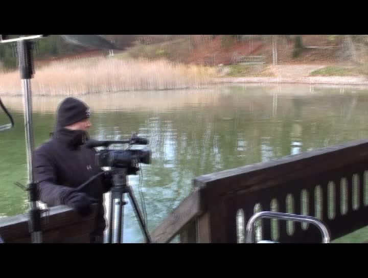 Impressionen vom Videodreh
